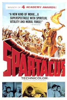 لأول مرة : فيلم سبارتاكوس 1960