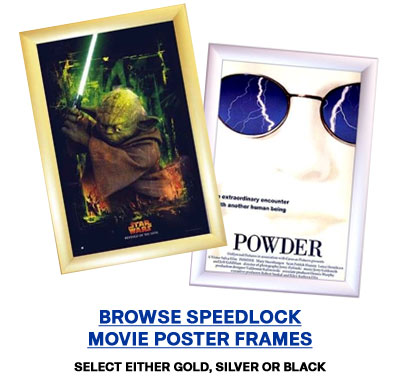 Buy Movie Poster Frames and Lightboxes at ChasingtheFrog