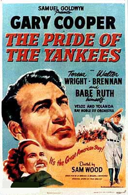 CineScope - Affiche - Vainqueur du destin - The Pride of the Yankees - 1942