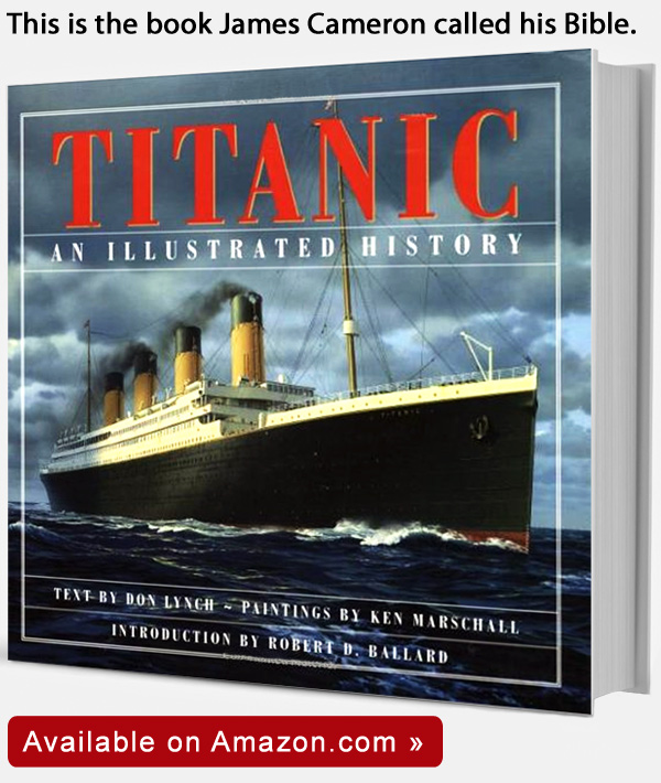 Titanic Illustrated History Book