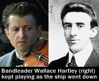 Wallace Hartley bandleader titanic