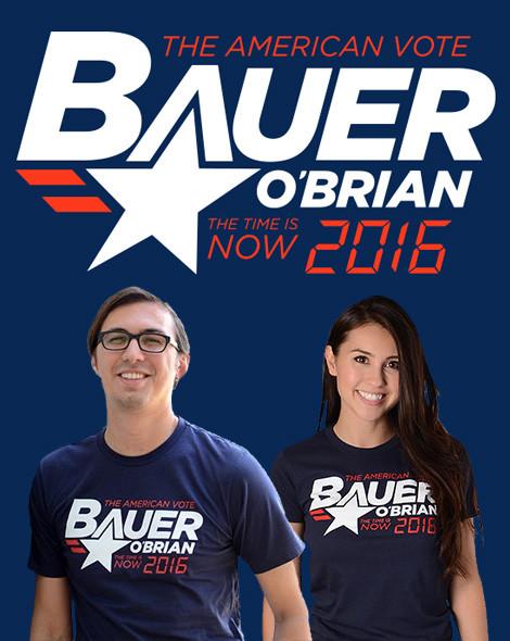 Jack Bauer Chloe O'Brian 2016 t-shirts