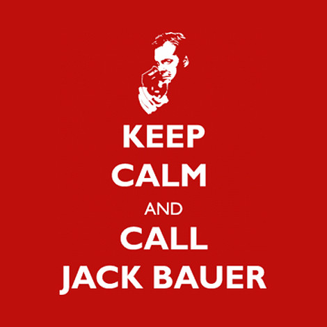 24 t-shirt jack bauer keep calm