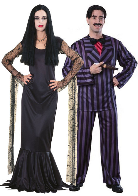 Gomez And Morticia Addams Costumes