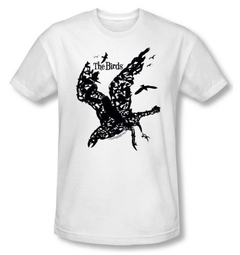 Alfred Hitchcock Birds shirt