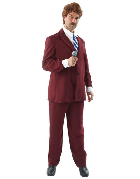 Ron Burgundy costume