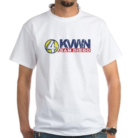 Anchorman Channel 4 t-shirts
