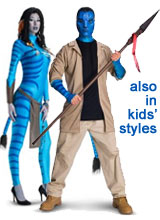 Jake and Neytiri Avatar Costumes