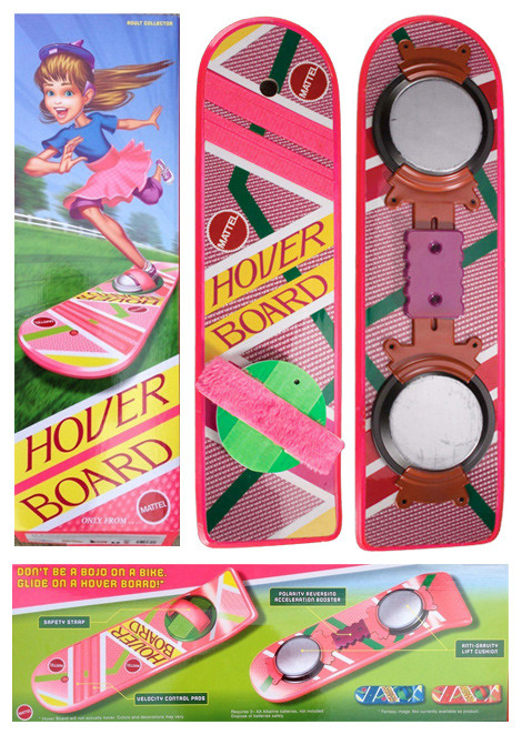 Back to the Future Hoverboard Replica Skateboard