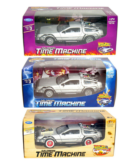 Back to the Future DeLorean Diecast Car