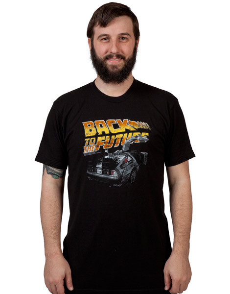 DeLorean Back to the Future tee