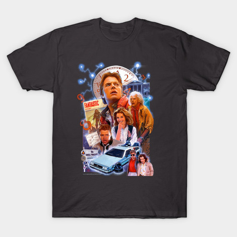 Bart to the Future Hoverboard t-shirt