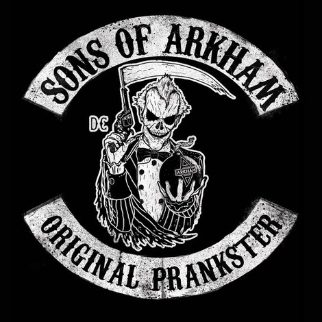 Sons of Arkham Joker t-shirt