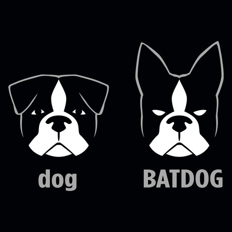 Dog Batdog t-shirts
