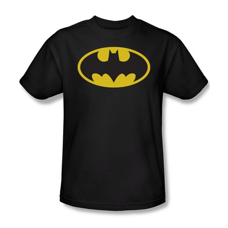 bat logo batman tee