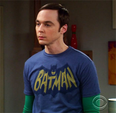 Batman Sheldon Logo shirt
