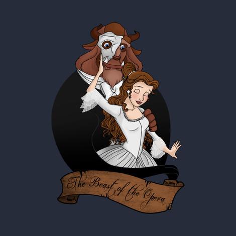 The Beast of the Opera Tee