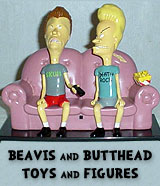 Beavis and Butthead Figures