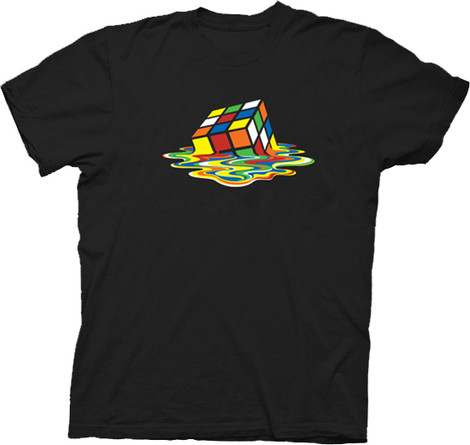 Sheldon Melting Rubik's Cube t-shirt