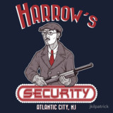 Harrow's Security tee