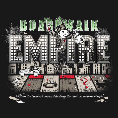 Monopoly Boardwalk Empire shirt