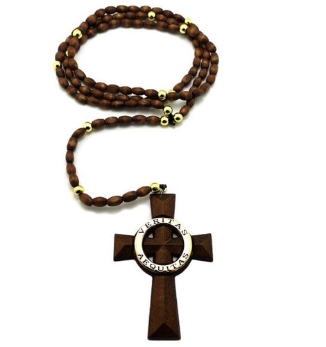 Boondock Saints Necklace Rosary Cross