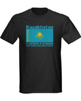 Flag Kazakhstan t-shirt