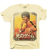 bruce lee game of death t-shirt