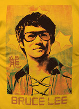 Bruce Lee punch shirt