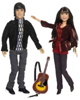 Shane and Mitchie Camp Rock Dolls