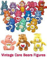 Vintage Care Bears Action Figures