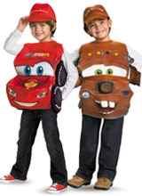 Disney Pixar Cars Costumes  sc 1 st  Chasing the Frog & Disney Cars Costumes Lightning McQueen Outfits Tow Mater Costume