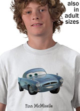 Cars 2 Finn McMissile shirt
