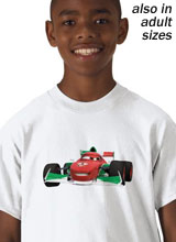 Cars 2 Francesco Bernoulli shirt