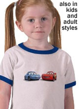 Cars Sally t-shirt