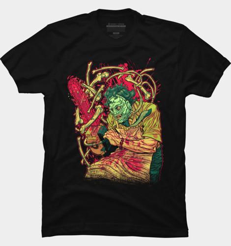 Texas Chainsaw Massacre Bones t-shirt