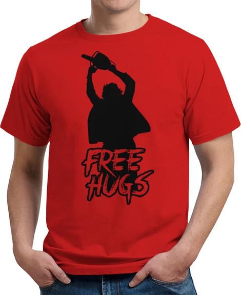 texas chainsaw massacre free hugs shirt