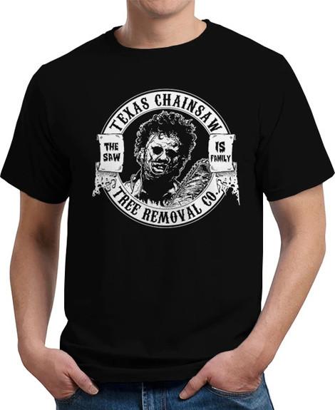 Tree Removal Texas Chainsaw Massacre t-shirt