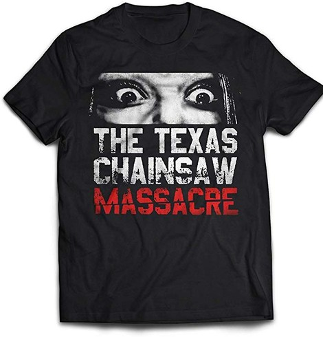 Texas Chainsaw Massacre Don't Look tee