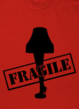 a christmas story leg lamp fragile