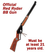 Red Ryder BB Guns