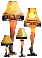 Christmas Story Leg Lamps