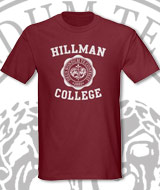 Cosby Hillman College shirt