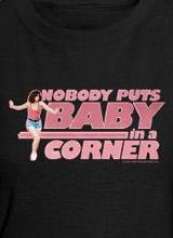 Baby in Corner Patrick Swayze shirt
