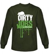 logo Dirty Jobs t-shirts