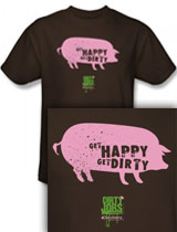 Get Happy Get Dirty tee
