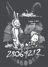 Donnie Darko comic t-shirt
