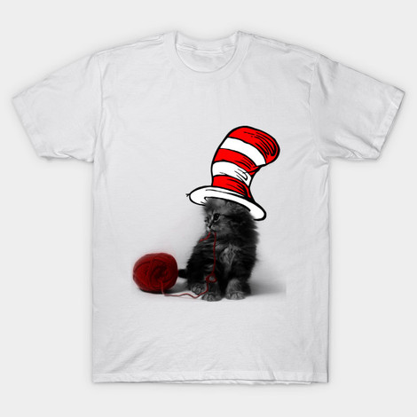 Cat in Hat t-shirt