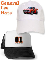 General Lee Dukes of Hazzard hats