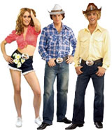Dukes of Hazzard Costumes Daisy, Bo, Luke